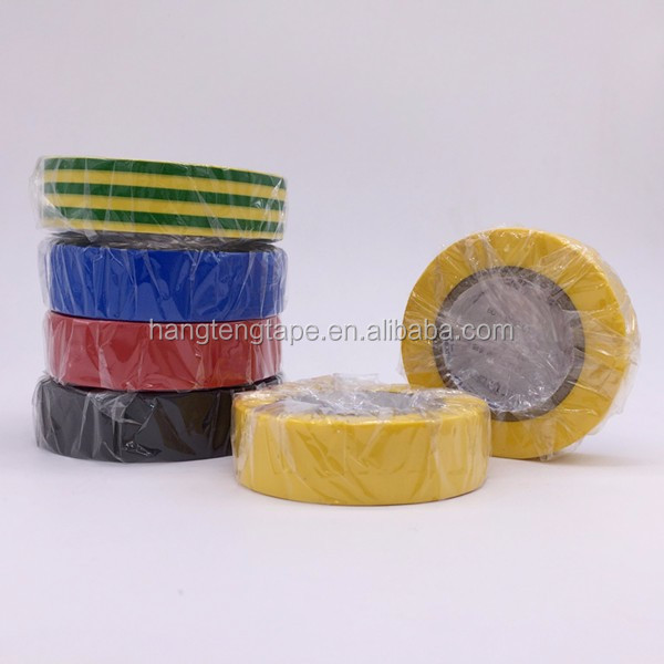 High Quality Electrically Insulative Adhesives PVC Insulation Tape