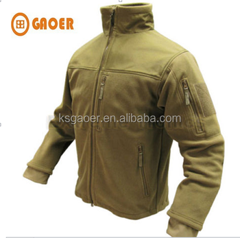 Tactical Hunting Polyester Micro Fleece Jacket