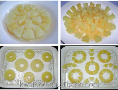 Agriculture foods canned pineapple tidbits in syrup