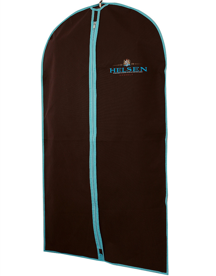 Promotional Nicely Made Dance Competition Blue Long Dress Garment Bag