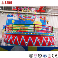 Factory Directly Amusement Rides DiscoTagada Crazy Dance Ride for sale