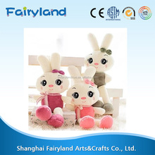 Rabbit animal plush stuffed toys with cute eyes,rabbit toys with big ears lovely gifts