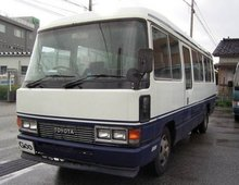 1991 Toyota Coaster Number of Passengers:29 Power Slide Door