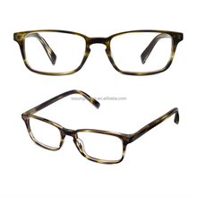 Cheap eyewear & eyewear Leather PU Wooden case top quality factory directly