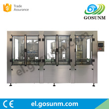 Factory sale carbonated soft drink Vodka filling machine price,bottle filling capping and labeling machine