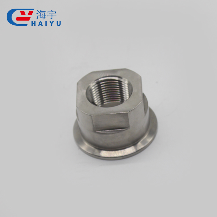 Stainless steel double fitting crimped cutting ferrule connector