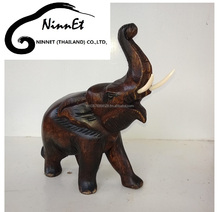 Wood Carved Elephant from Thailand