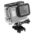 SHOOT 45M Waterproof Camera Shell Protective Case Diving Housing Cover for GoPro Hero 5/6