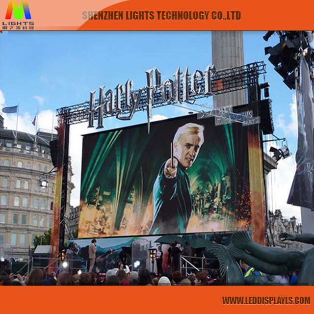 High Brightness P6 Outdoor Stage 10ft X 12ft Led <strong>Screen</strong> Price