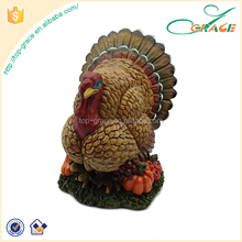 Festival Thanksgiving Gifts Harvest Polyresin Turkey For Home Decor