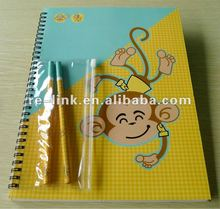 A5 Spiral note pad with pencils