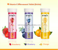 Hot Sale Nutrition Supplement Vitamin C Effervescent Tablet Health Drinking 4g OEM Contract Manufacturer