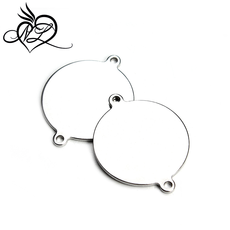 Personalized your own design fashion silver metal round shape <strong>custom</strong> made metal logo charms