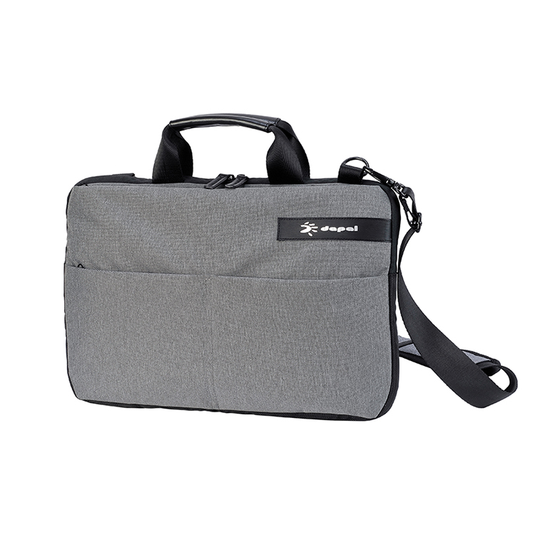 Business leisure laptop computer bag with shoulder strap