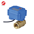 CWX-15Q DN15 brass female-female BSP DC12V CR05 normal open electric water valve for fan coil