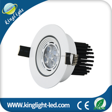 5W Recessed LED Ceiling Downlight Indoor Lighting Spotlight Directional Retrofit Kit