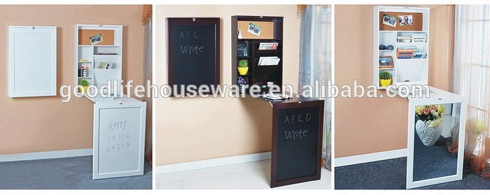 Wooden mirrored shoe storage cabinet with movable panel inside