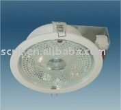 stained glass cover and aluminum reflect cup E27 downlight recessed spotlights for kitchen