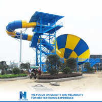 2016 New design giant inflatable water slide Factory in china