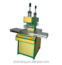 Popular silicone logo making machine on textile