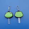 2016 Wholesale Head Frog Shaped Soft PVC Key Cap Cover