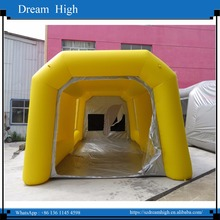 Cheap mobile or car inflatable paint booth/used inflatable spraying booth/inflatable spray booth