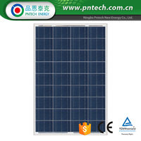 photovoltaic solar panel poly module 100w
