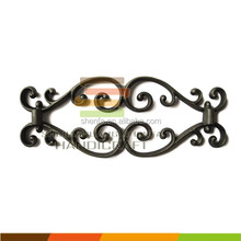 Cast iron wrought iron parts, metal casting pieces for fence
