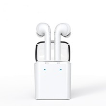 Top seller Double ear MINI Wireless Bluetooth Earphone For iPhone 7/7s airpods Double Twins Bluetooth Headphone