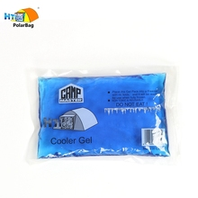Soft Reusable Cold Hot Cylindrical Gel Freezer Ice Pack