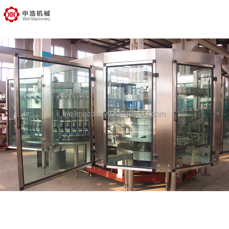 Top Quality 15000 BPH CO2 ColaCarbonated Beverage Washing Filling and Capping Machine with CO2