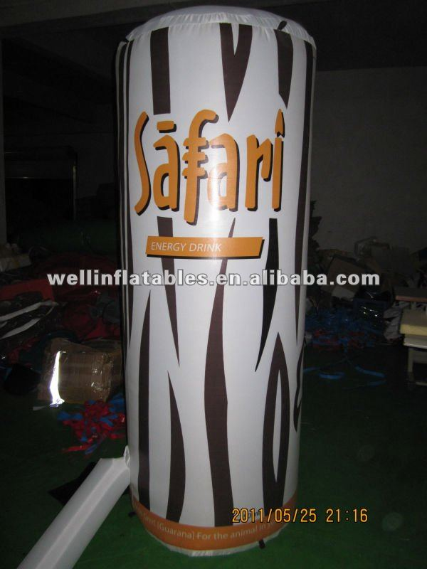 custom inflatable beer can advertising model