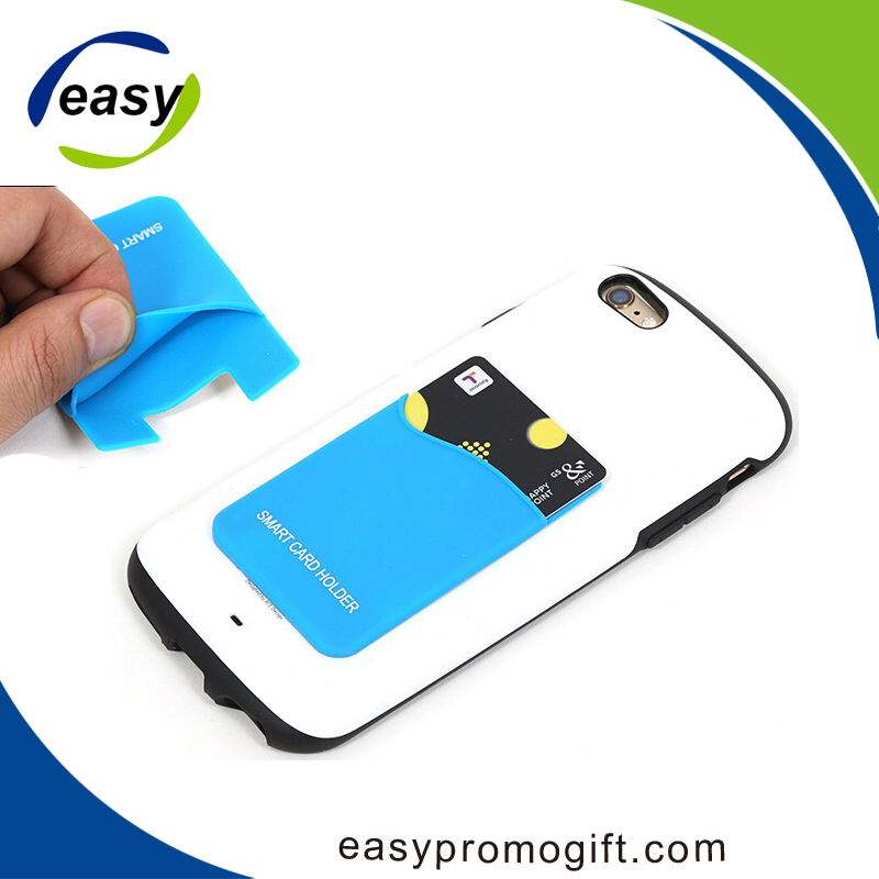 Promotional gifts Smart wallet silicon card holder