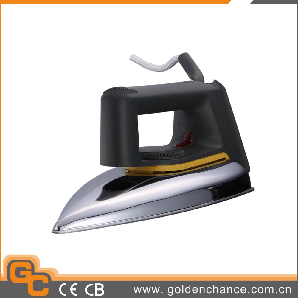 electric automatic heavy dry iron, clothes iron, handy home dry iron
