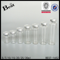 cheap 3ml 4ml 5ml 7ml 10ml serum screw tube bottle wholesale empty sterile glass vials medical