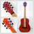 musical instruments caravan music travling small acoustic guitar