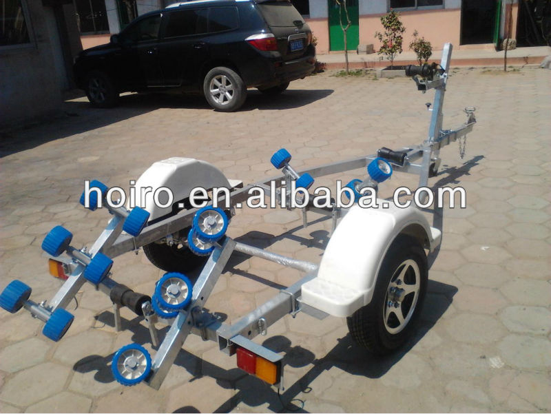 rc boat trailer with aluminum wheel