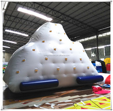 Professional Manufactuer Inflatable Ice Berg Water Climbing Game Toy Pool Float Inflatable Iceberg