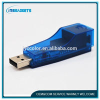 TSJ0010 USB 2.0 RJ45 Lan Card 10/100M Ethernet Network Adapter