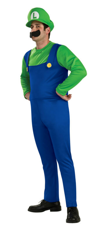 Super Mario & Luigi Fancy Dress Costume