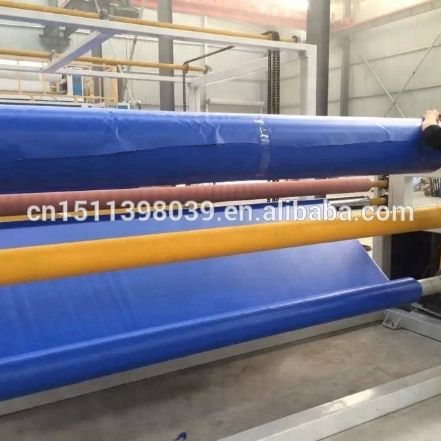 pvc tarpaulin/flex banner/tent lamination production machine <strong>line</strong>