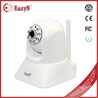 EasyN High Resolution Motion Sensor Still Picture 1.3 Megapixel P2P Ip Network Camera