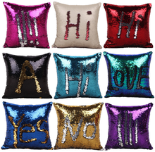 2017 Hot Selling Sequin Mermaid Pillow Cheap Wholesale Sequin Pillow DIY Sequin Pillow