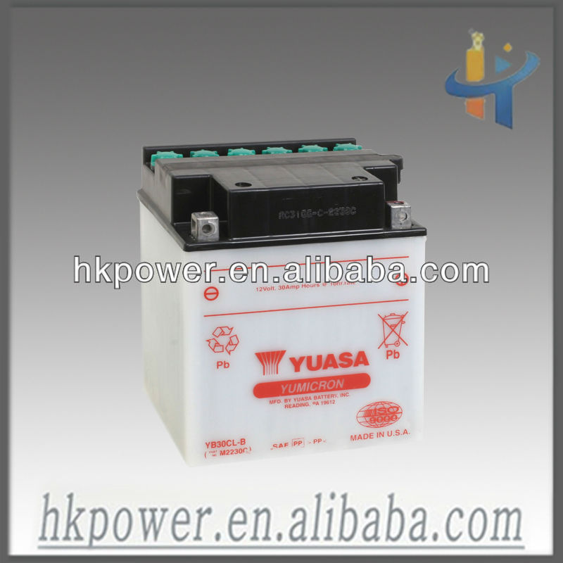 Yuasa 12V 30AH lead acid battery, safe and reliable back up battery