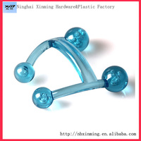 H shaped mini handheld plastic massager / factory supply health care massage tool / portable body massager