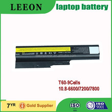LEEON 9Cells replacement laptop battery for IBM ThinkPad R60 ThinkPad R60 0656 ThinkPad R60 0657 ThinkPad R60 0658 ThinkPad R60