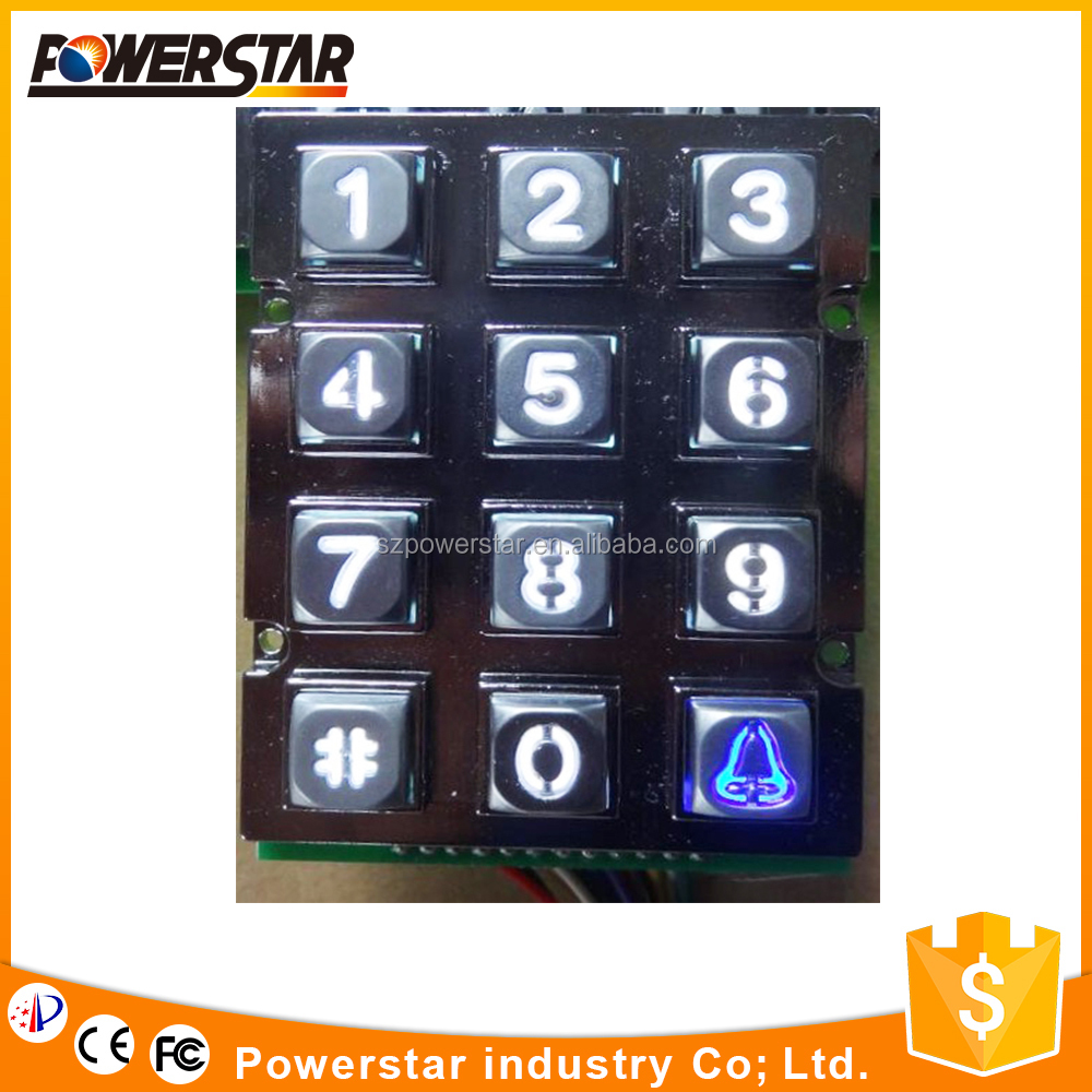 Easy Installation Specially Designed Keyboards For Doors