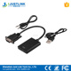 VGA to HDMI Converter 1080P HD Plug and Play with Audio VGA to HDMI AV Video Cable Adapter for PC Laptop to Monitor TV