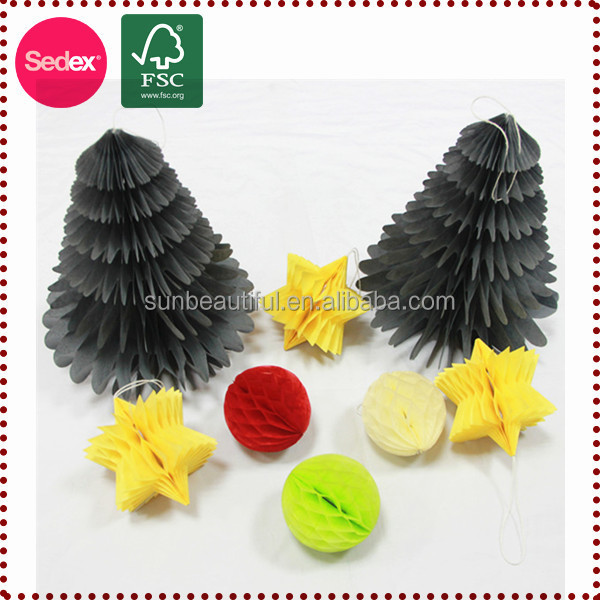 Various Craft Hanging Paper Honeycomb Paper Tassels