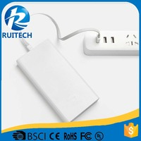 5V 3.6A high capacity 20000mAh power bank charger for apple macbook power bank